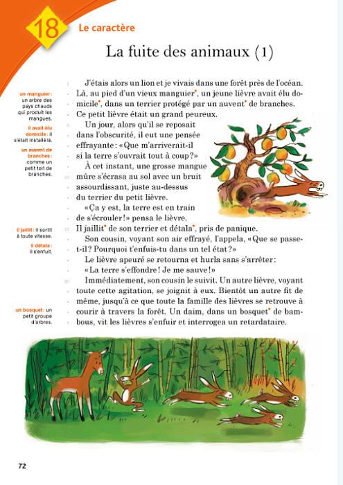 Francais Ce1 Livre De Lecture Le Livre De L Eleve Volume 2
